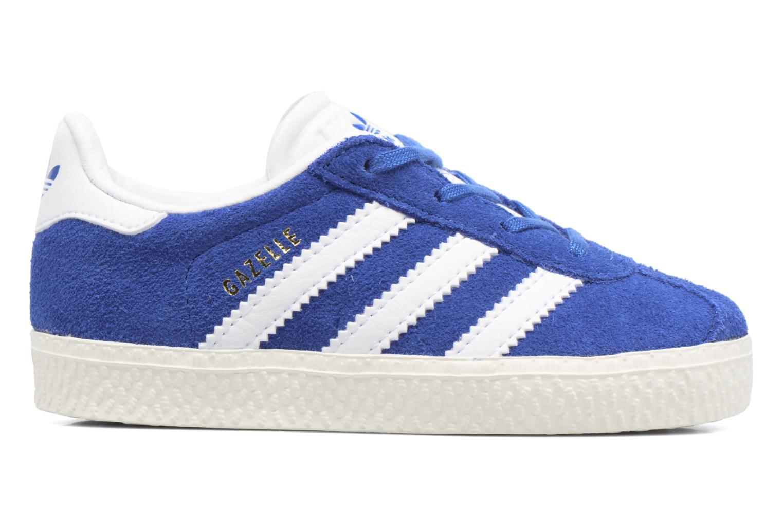 Baskets Adidas Originals Gazelle I Bleu vue derrière