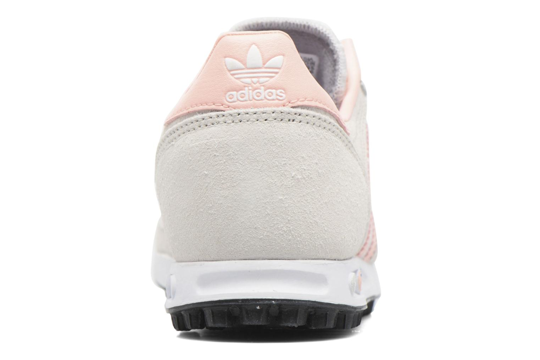 Baskets Adidas Originals La Trainer C Beige vue droite
