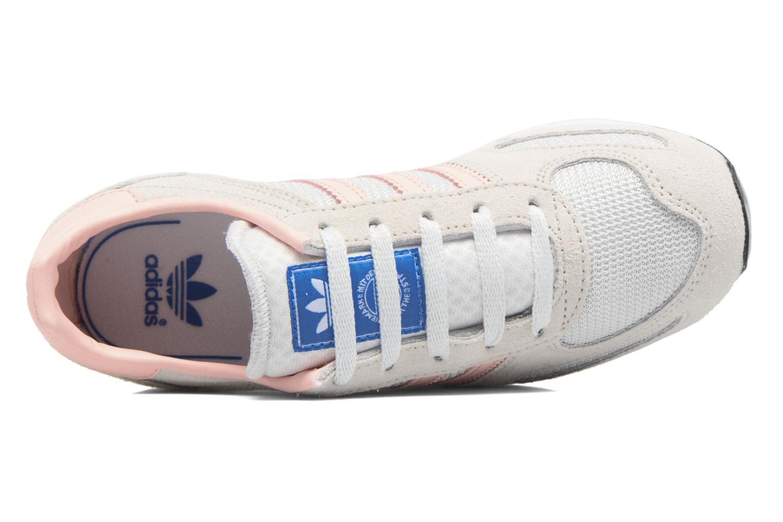 Baskets Adidas Originals La Trainer C Beige vue gauche