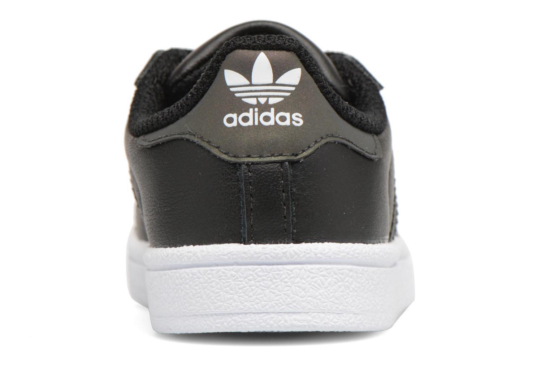 Baskets Adidas Originals Superstar I Noir vue droite