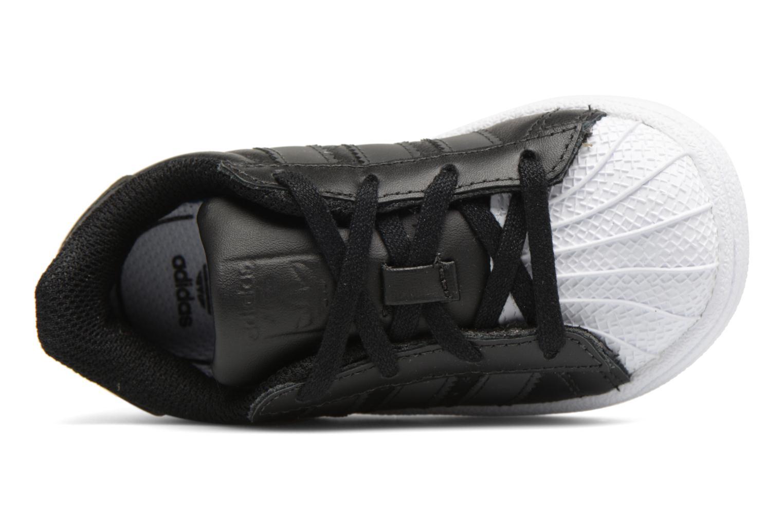 Baskets Adidas Originals Superstar I Noir vue gauche
