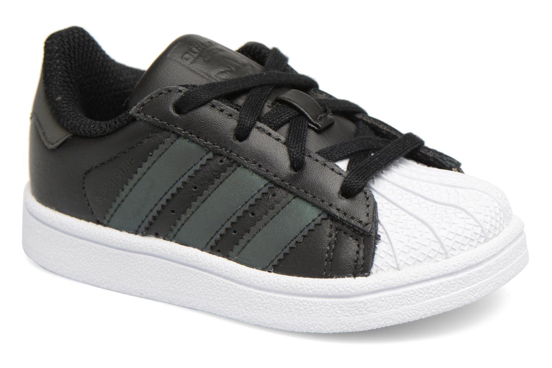Baskets Adidas Originals Superstar I Noir vue détail/paire