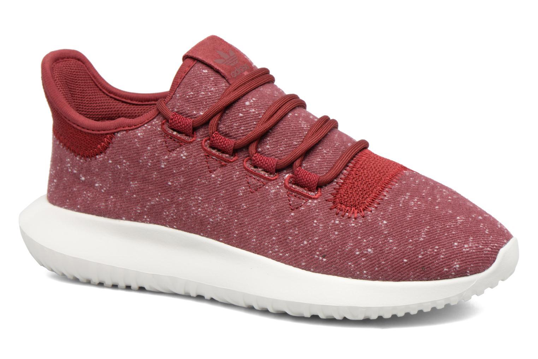 Baskets Adidas Originals Tubular Shadow J Bordeaux vue détail/paire