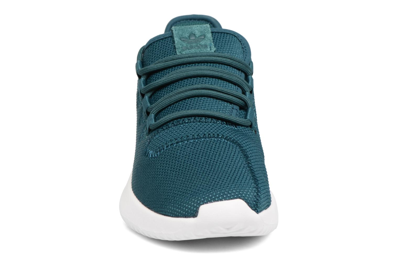 Sneakers Adidas Originals Tubular Shadow J Verde modello indossato