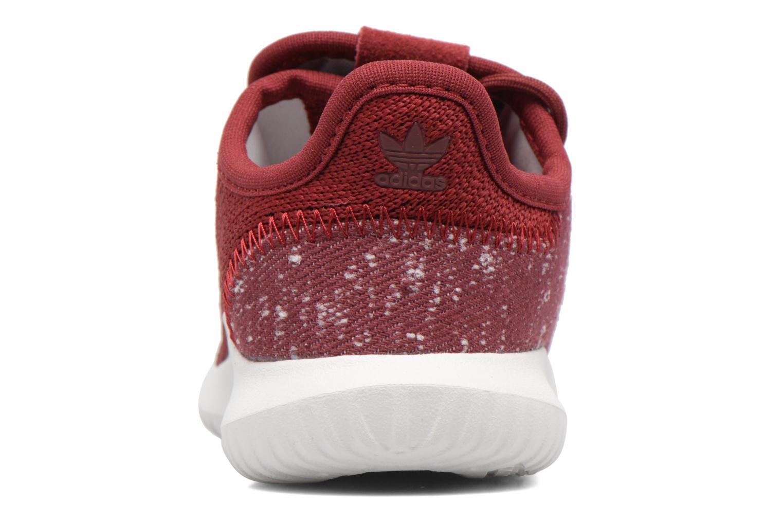 Baskets Adidas Originals Tubular Shadow I Bordeaux vue droite