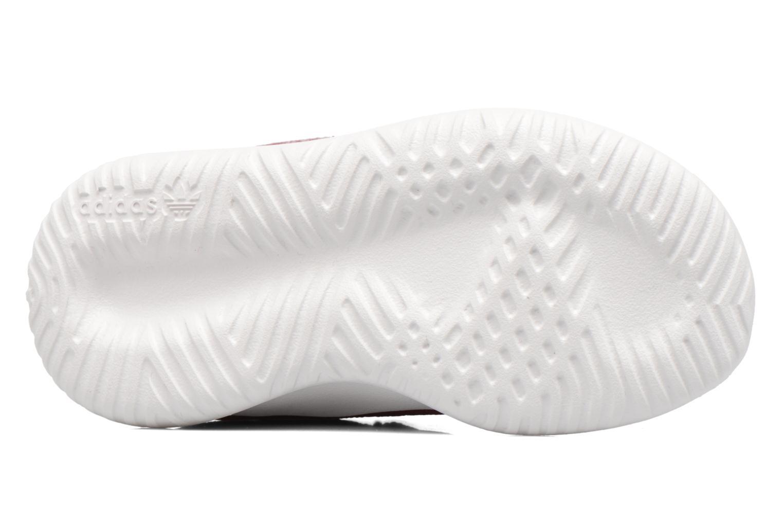 Baskets Adidas Originals Tubular Shadow I Bordeaux vue haut
