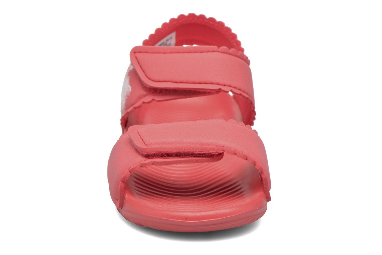 Sandali e scarpe aperte Adidas Performance Altaswim G I Rosa modello indossato