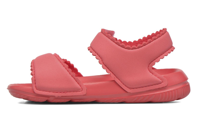 Sandali e scarpe aperte Adidas Performance Altaswim G I Rosa immagine frontale