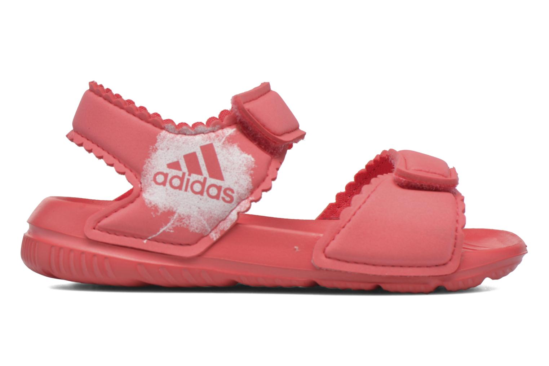 Sandali e scarpe aperte Adidas Performance Altaswim G I Rosa immagine posteriore