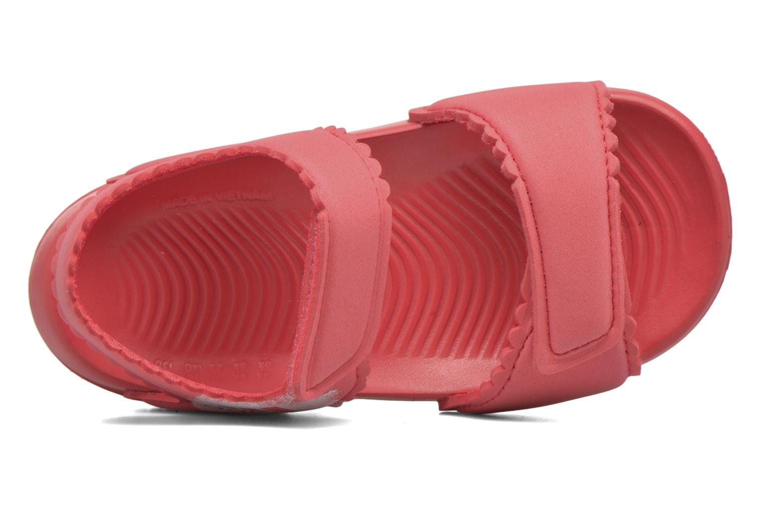 Sandals Adidas Performance Altaswim G I Pink view from the left