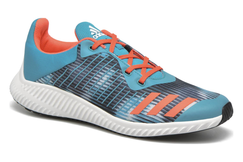 Baskets Adidas Performance Fortarun K Bleu vue détail/paire