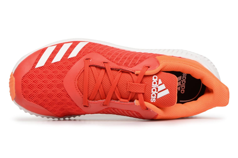 Sneakers Adidas Performance Fortarun K Orange se fra venstre
