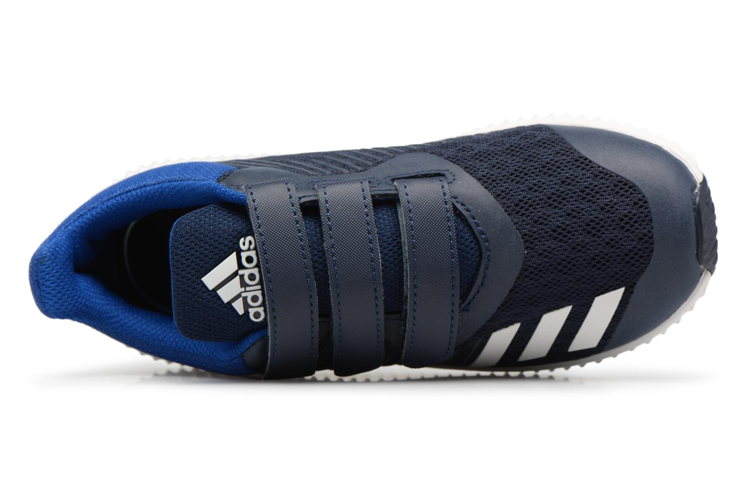Trainers Adidas Performance Fortarun Cf K Blue view from the left