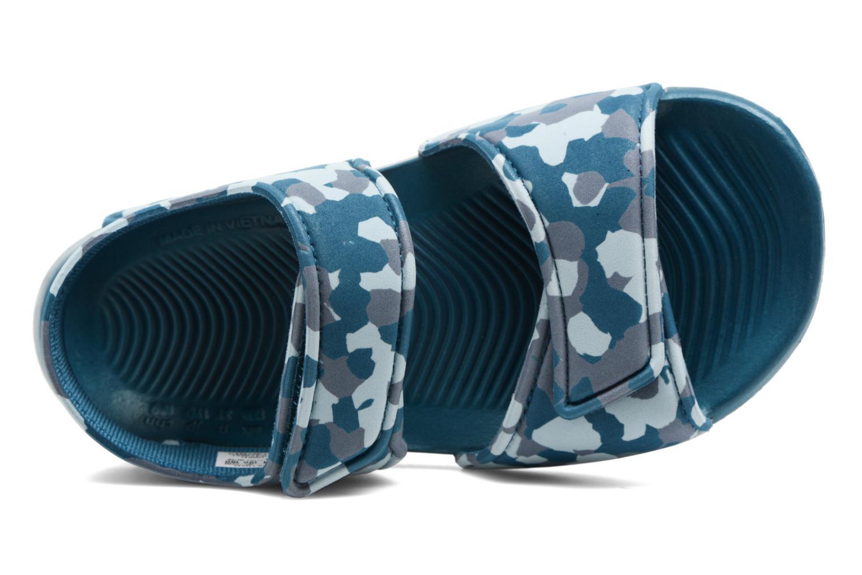 Sandalen Adidas Performance Altaswim C Blauw links