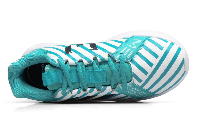 Sportschuhe Adidas Performance Rapidaturf Messi K blau ansicht von links