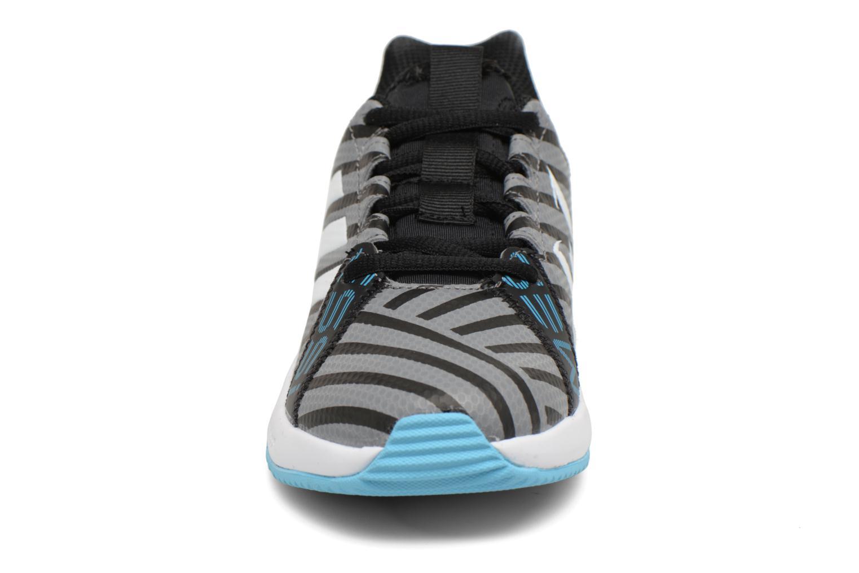 Sportschuhe Adidas Performance Rapidaturf Messi K grau schuhe getragen
