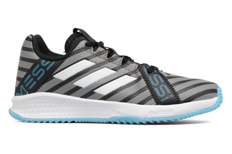 Sportschuhe Adidas Performance Rapidaturf Messi K grau ansicht von hinten