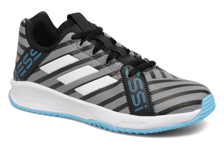 Sportschuhe Adidas Performance Rapidaturf Messi K grau detaillierte ansicht/modell