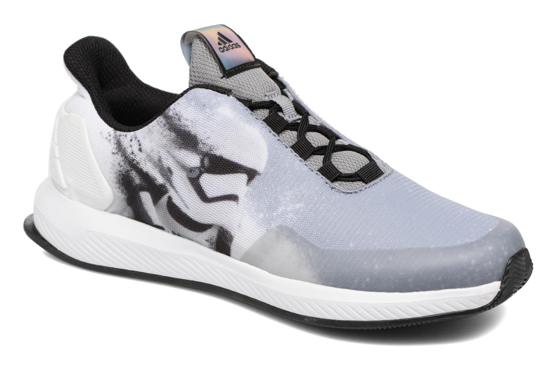 Sneakers Adidas Performance Star Wars K Grå detaljeret billede af skoene