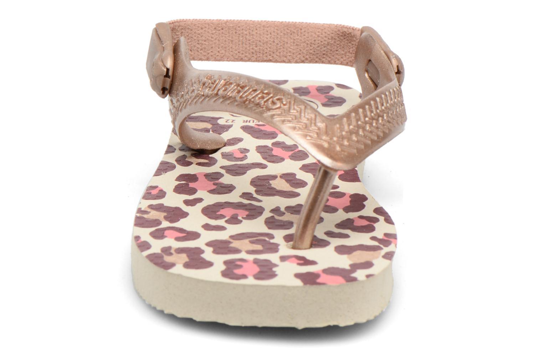 Sandaler Havaianas Baby Chic 2 Beige se skoene på