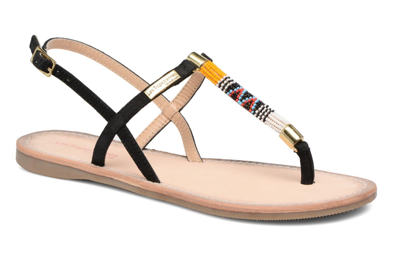 Les Tropéziennes par M Belarbi ODELIA NOIR - Chaussures Sandale Femme