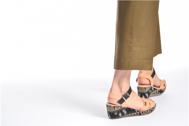Sandalen Les Tropéziennes par M Belarbi Gatiela mehrfarbig ansicht von unten / tasche getragen