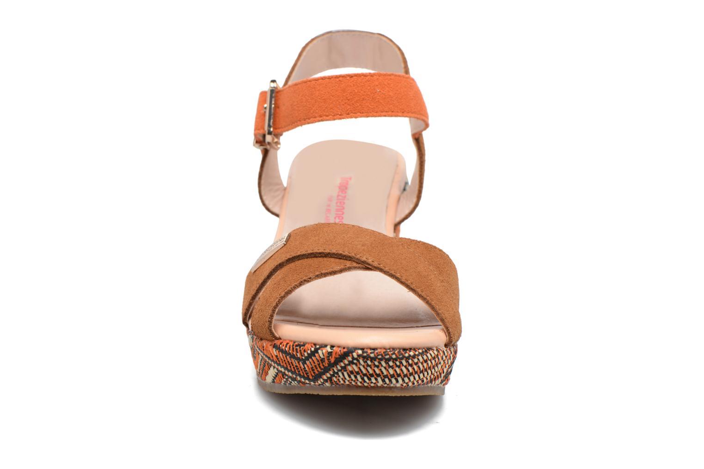 Sandalen Les Tropéziennes par M Belarbi Gatiela mehrfarbig schuhe getragen