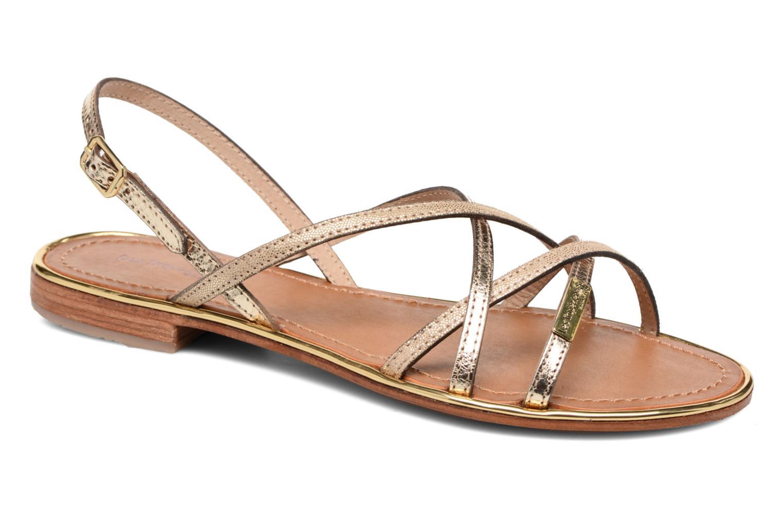 Sandales et nu-pieds Les Tropéziennes par M Belarbi Belle Or et bronze vue détail/paire