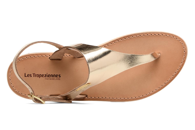 Sandales et nu-pieds Les Tropéziennes par M Belarbi Baccara Or et bronze vue gauche
