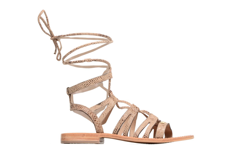 Sandales et nu-pieds Les Tropéziennes par M Belarbi Hercule Beige vue derrière