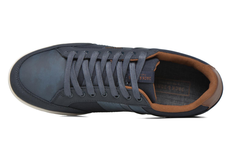Sneaker Jack & Jones JFW Belmont blau ansicht von links