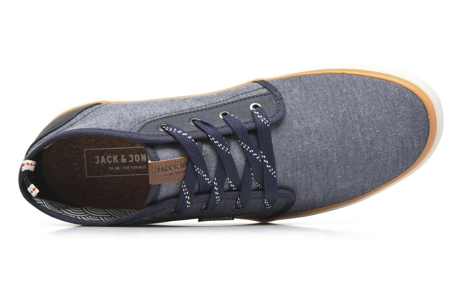 Trainers Jack & Jones JFW Major Blue view from the left