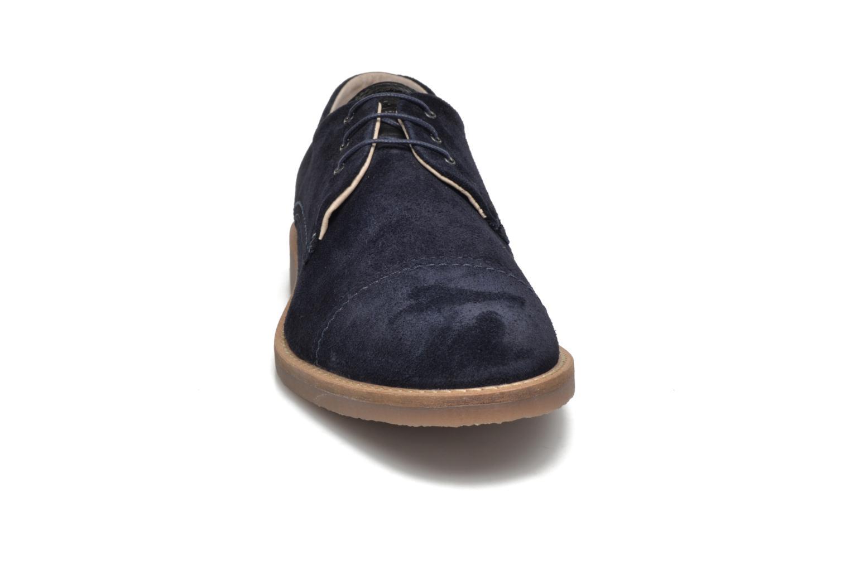 Chaussures à lacets Jack & Jones JFW Billy Suede Bleu vue portées chaussures