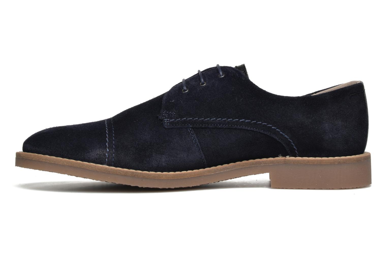 Chaussures à lacets Jack & Jones JFW Billy Suede Bleu vue face