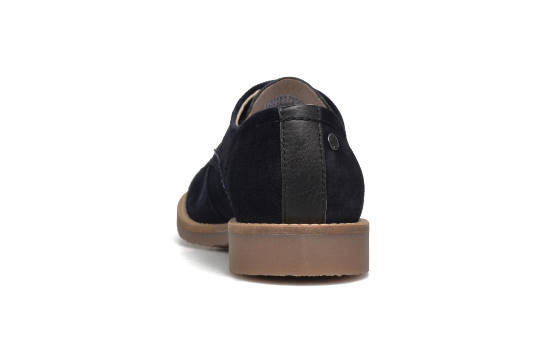 Chaussures à lacets Jack & Jones JFW Billy Suede Bleu vue droite