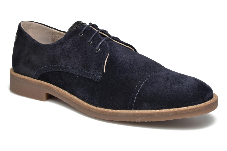 Chaussures à lacets Jack & Jones JFW Billy Suede Bleu vue détail/paire