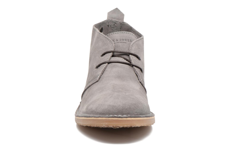 Stiefeletten & Boots Jack & Jones JFW Gobi grau schuhe getragen