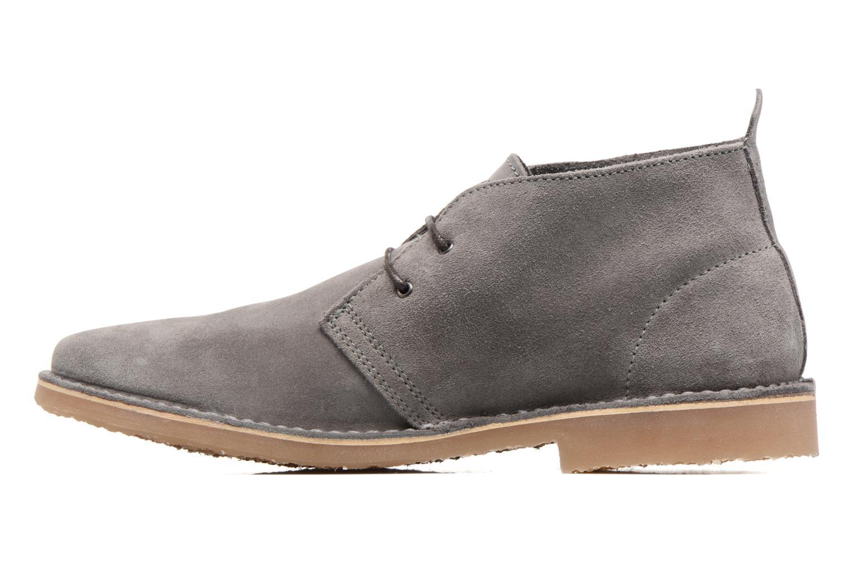 Stiefeletten & Boots Jack & Jones JFW Gobi grau ansicht von vorne
