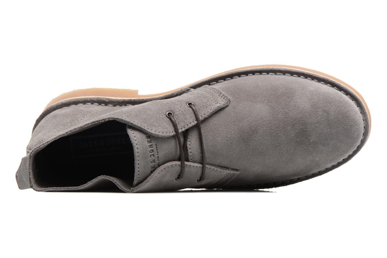Stiefeletten & Boots Jack & Jones JFW Gobi grau ansicht von links