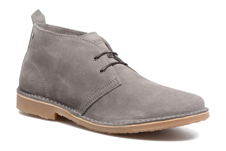 Stiefeletten & Boots Jack & Jones JFW Gobi grau detaillierte ansicht/modell
