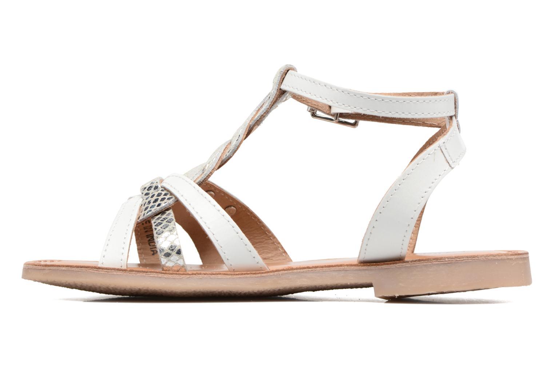 Sandals Les Tropéziennes par M Belarbi Badiane White front view