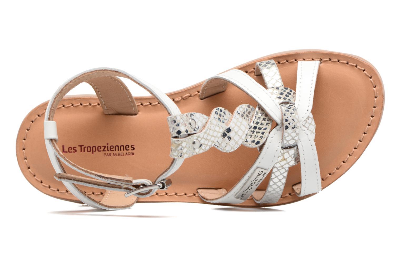Sandales et nu-pieds Les Tropéziennes par M Belarbi Badiane Blanc vue gauche