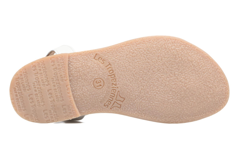 Sandales et nu-pieds Les Tropéziennes par M Belarbi Badiane Blanc vue haut