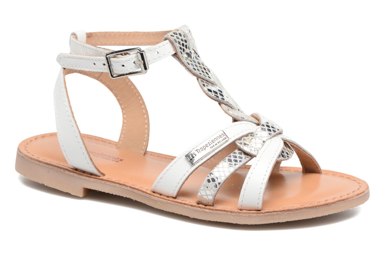 Sandaler Les Tropéziennes par M Belarbi Badiane Hvid detaljeret billede af skoene
