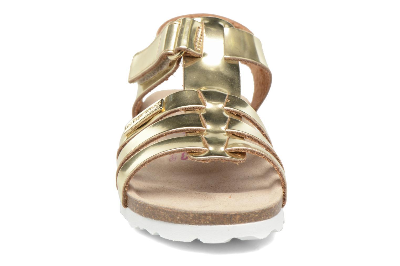Sandales et nu-pieds Les Tropéziennes par M Belarbi Polina Or et bronze vue portées chaussures