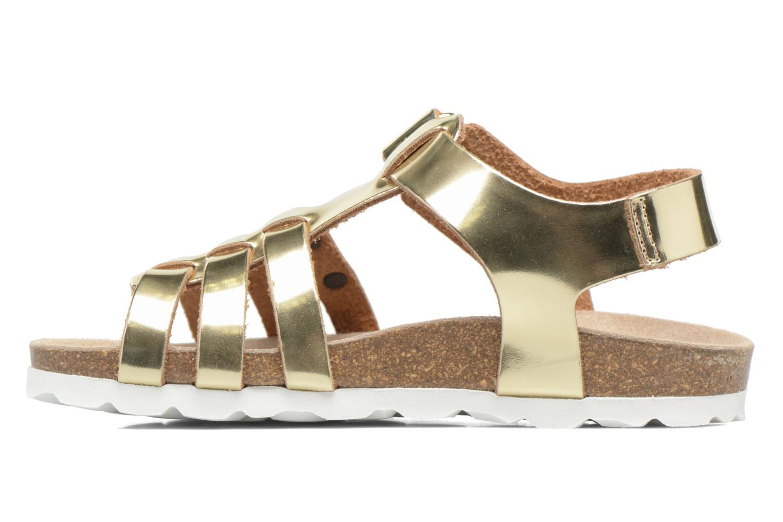 Sandales et nu-pieds Les Tropéziennes par M Belarbi Polina Or et bronze vue face