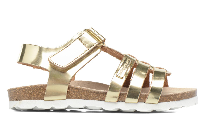 Sandales et nu-pieds Les Tropéziennes par M Belarbi Polina Or et bronze vue derrière