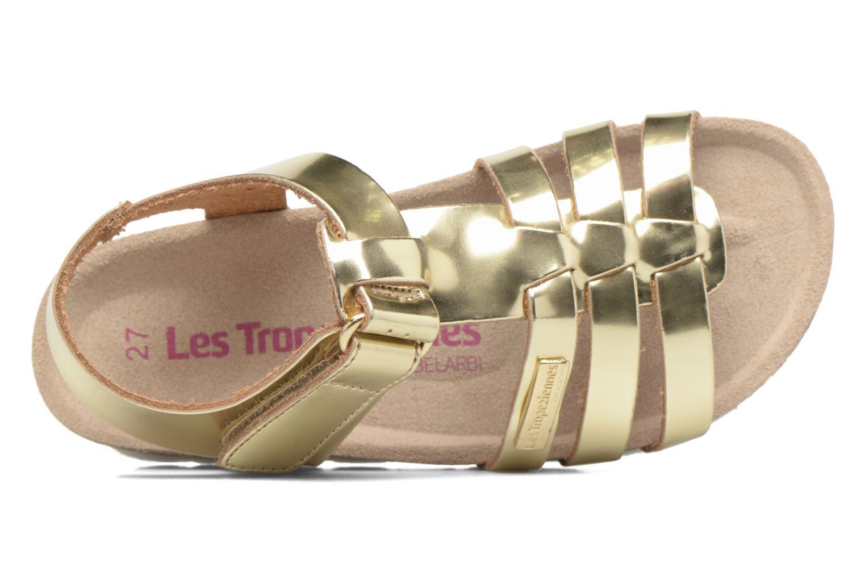 Sandales et nu-pieds Les Tropéziennes par M Belarbi Polina Or et bronze vue gauche