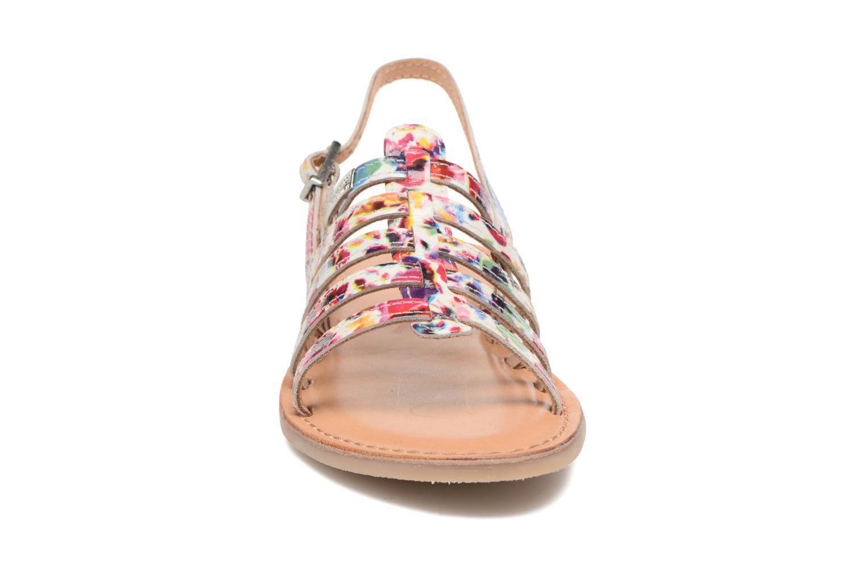 Sandales et nu-pieds Les Tropéziennes par M Belarbi Manga Multicolore vue portées chaussures
