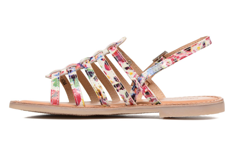 Sandales et nu-pieds Les Tropéziennes par M Belarbi Manga Multicolore vue face